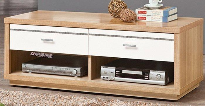【DH】商品貨號vc653-5品名稱《米提》四尺雙色電視櫃 (圖一 ) 備有 4尺長櫃(另有白色)另有六尺電視櫃。
