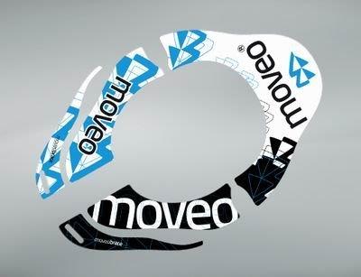 MOVEO logo 貼紙 (for 795克 白色版MOVEO護頸)