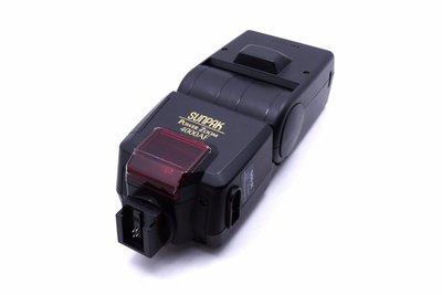 【台中競標】Sunpak 4000AF for Minolta 二手 閃光燈 競標品 標多少賣多少 #11653
