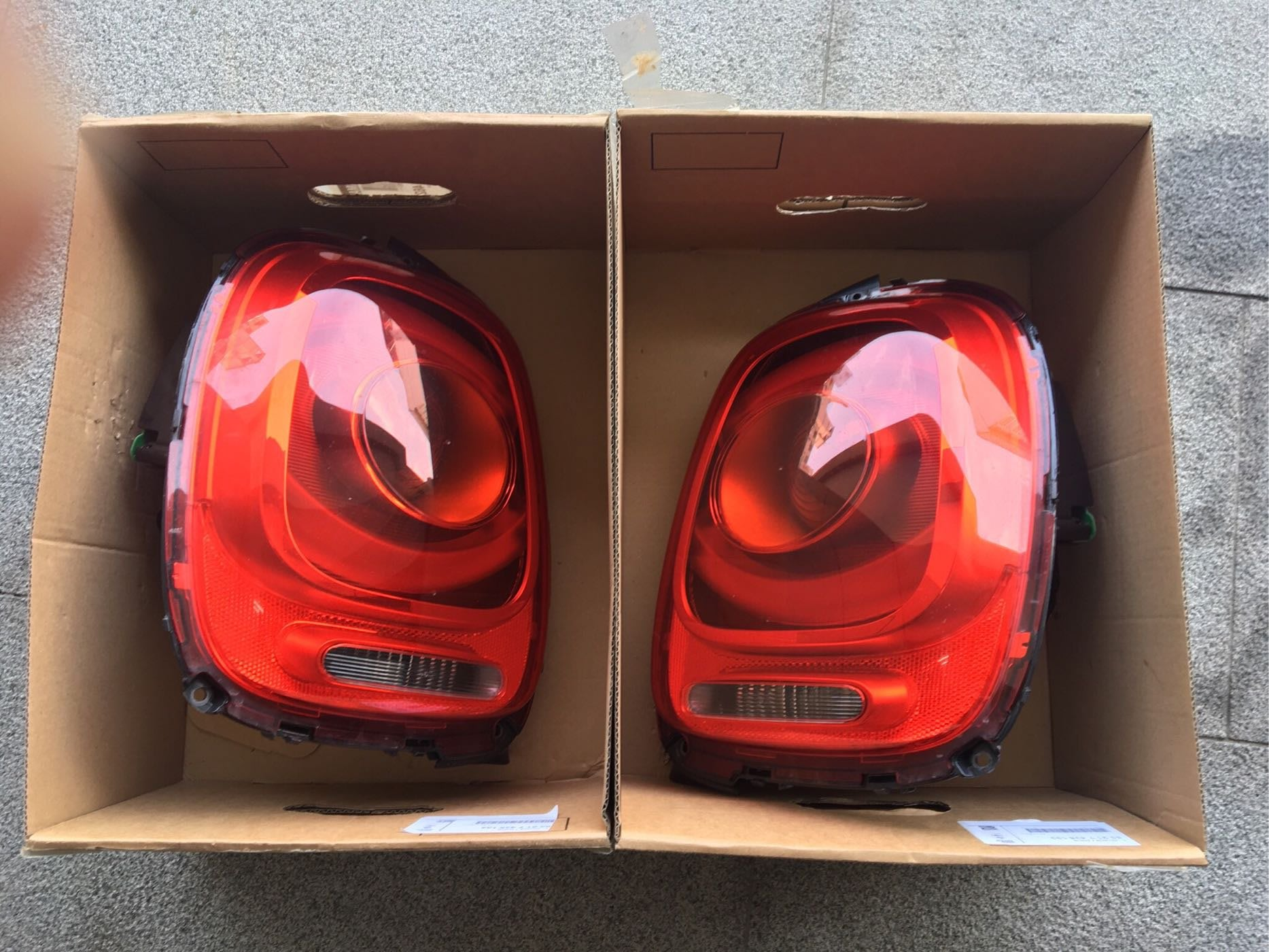 Mini Cooper F56 3D原廠尾燈 一組