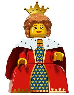 現貨【LEGO 樂高】積木/ Minifigures人偶系列: 15 代人偶包抽抽樂 71011 | 皇后 Queen