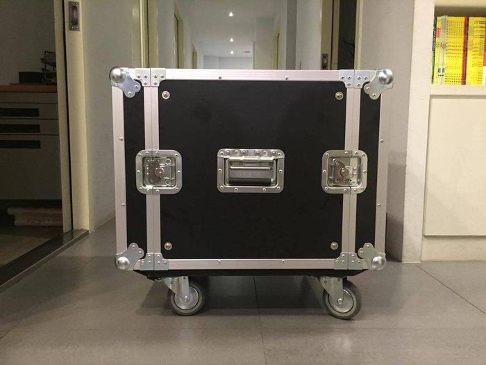 【六絃樂器】全新航空瑞克箱 10U 二開機櫃 / 舞台音響設備 專業PA器材