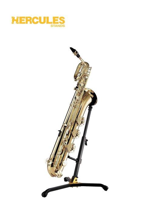 【現代樂器】現貨免運!海克力斯HERCULES DS535B Baritone Sax Stands 上低音薩克斯風架子