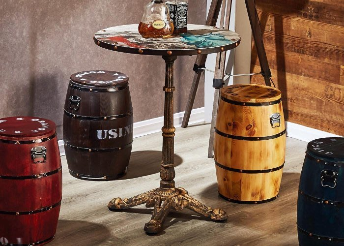 【DH】商品貨號N975-1商品名稱《自由神》1.8尺圓形洽談桌(圖一)不含椅凳~寬55深55高110CM ~特價