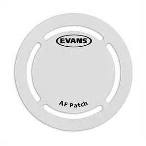 【六絃樂器】全新美國 Evans EQPAF 強力纖維大鼓保護貼 / 現貨特價