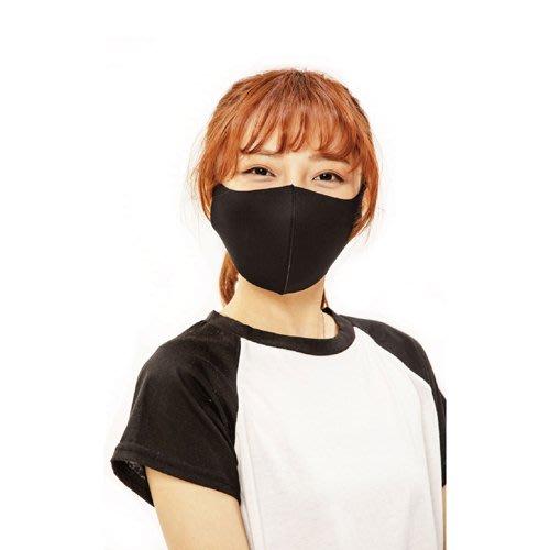 【勤逸軒】Prodigy超透氣MIT防曬立體口罩-神秘黑2入