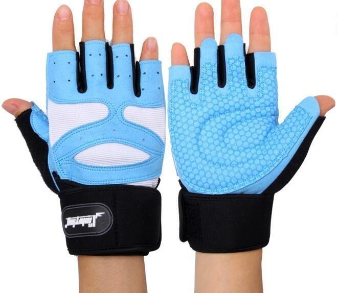 半指健身手套 男士 器械訓練手套 健美戶外運動護具 #3768