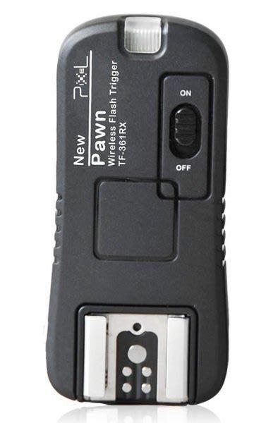 呈現攝影-品色 TF-361無線閃燈觸發器2.4G+快門Canon 430Ex 喚醒 B快門 離機閃 單接收器x1 NCC認證