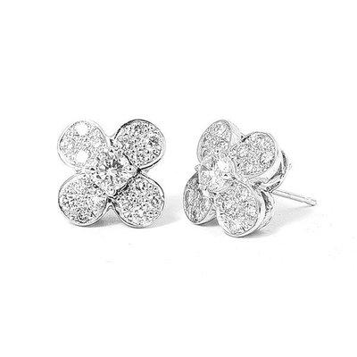 【JHT金宏總珠寶/GIA鑽石專賣】0.33/0.32克拉天然鑽石耳環( JB28-A07 )