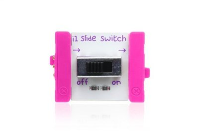 美國 littleBits 零件 (input): SLIDE SWITCH (8折出清)