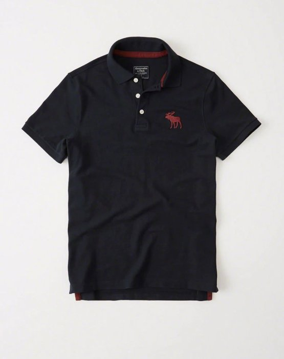 Abercrombie & Fitch Polo衫 121-224-0864-100 MY-麋鹿 全新真品 HCO AF