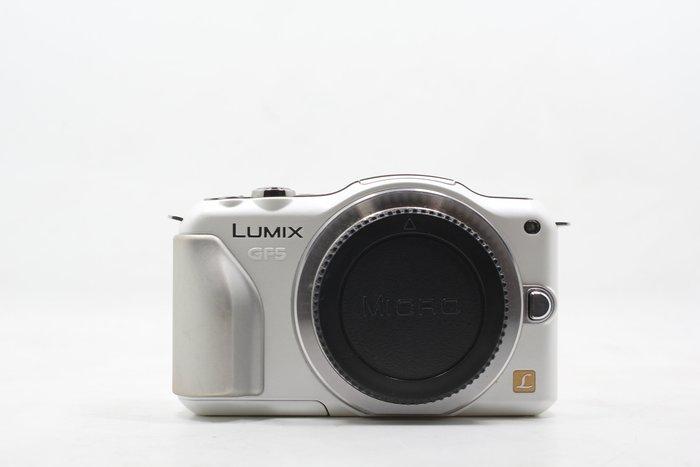 【高雄青蘋果3C】Panasonic Lumix DMC-GF5 白 單機身 二手 單眼相機 #11164