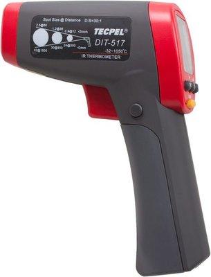 TECPEL 泰菱 》DIT-517 紅外線溫度計  測溫儀 非接觸溫度計 表面溫度 (30:1 / 1050℃)