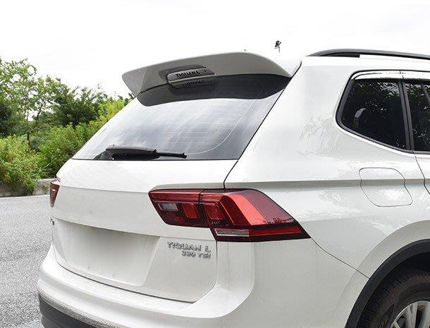 ** 福品小舖 ** 福斯 2017~18  VW TIGUAN  烤漆 亮面 尾翼 不需打孔 可直上 (免運)