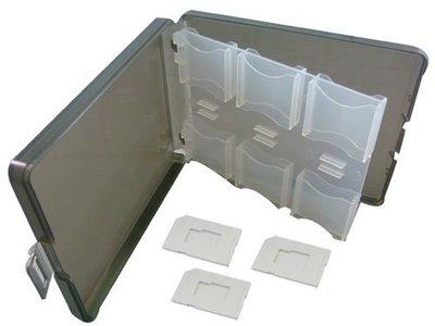 含稅 全新商品 彩晶12入 記憶卡 保存盒 收納盒 SD可放12片 附三個裸卡盤