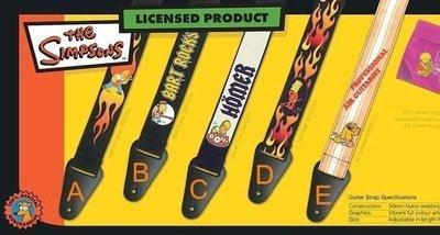 ☆ 唐尼樂器︵☆ Grover Allman 辛普森家庭 The Simpsons 系列木吉他/電吉他/電貝斯 Bass 背帶