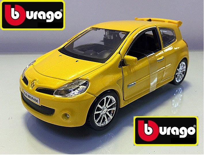 Bburago 比美高 Renault Clio Sportback hatchback 掀背車 雷諾 1:32 合金車