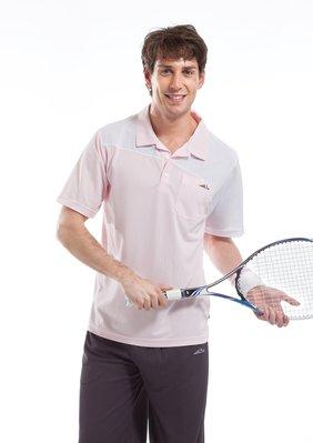 SPAR 男款吸濕排汗休閒運動POLO衫 R13362-3