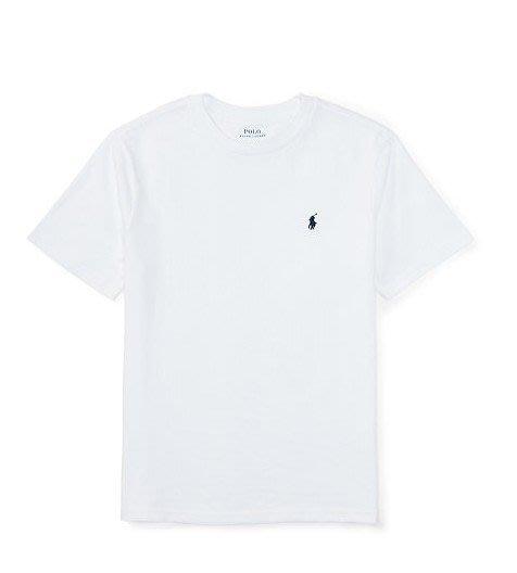 美國百分百【Ralph Lauren】男生 T-shirt 短袖 上衣 RL T恤 polo 深藍 灰 白 黑 B018
