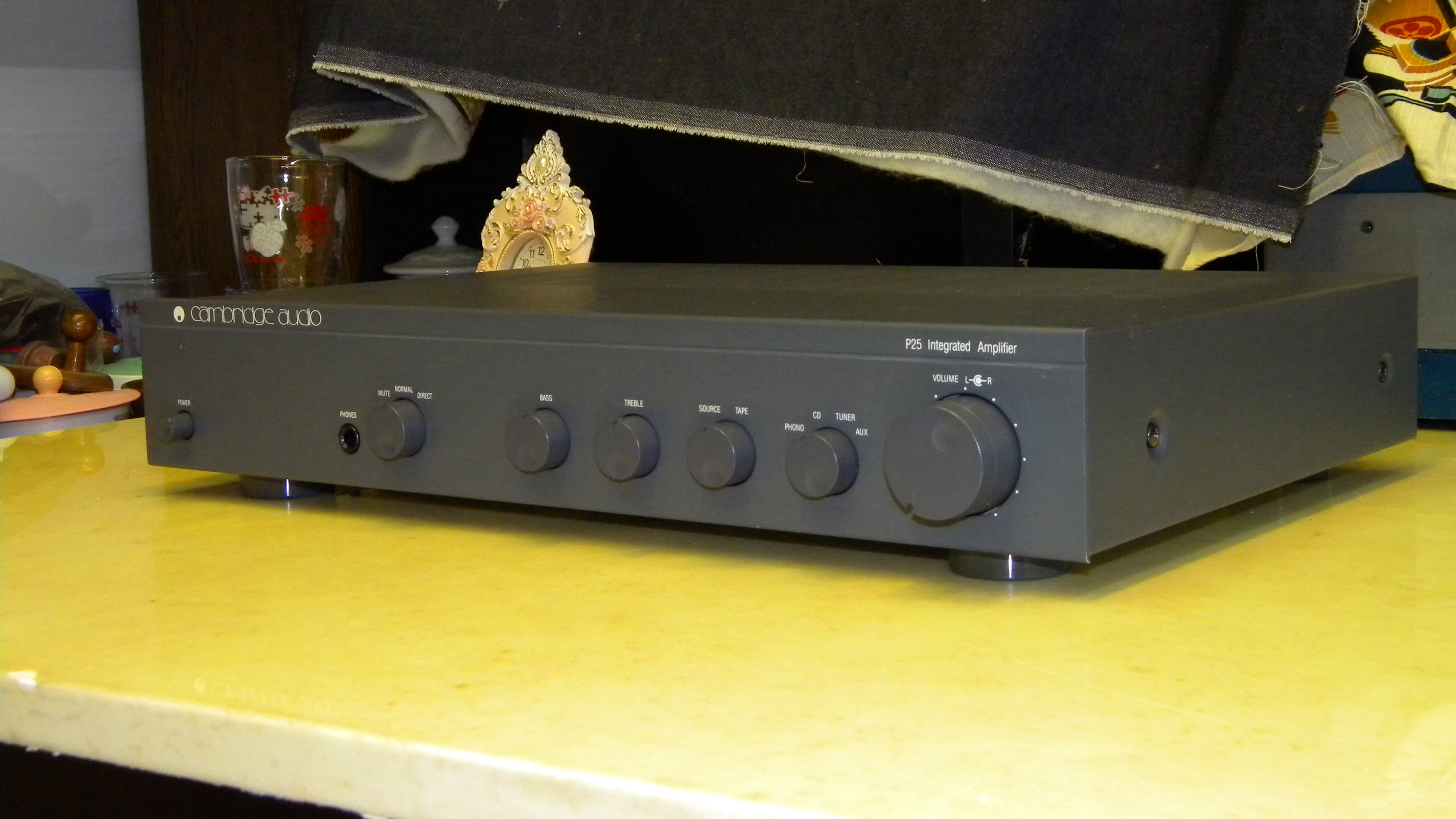 英國劍橋 Cambridge Audio P25 二聲道綜合擴大機