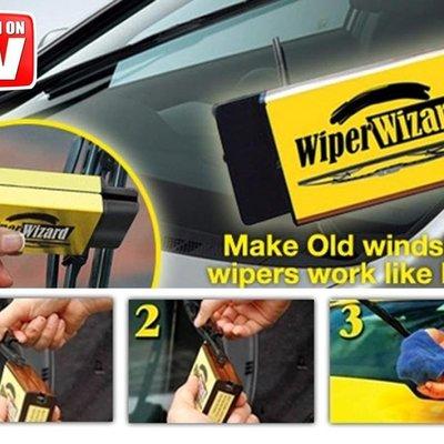 【台灣現貨直發】 Wiper Wizard 汽車雨刷修復器 清潔器 雨刷 修復 刮片 水撥 防跳動 雨刷清潔器