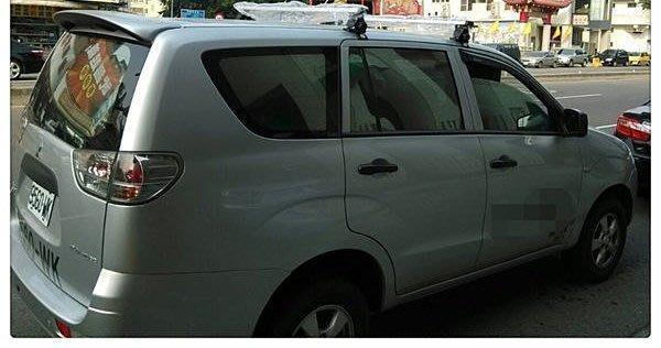 【 frankie】三菱Zinger專用車頂架/行李架〈鋁合金認證〉免運費