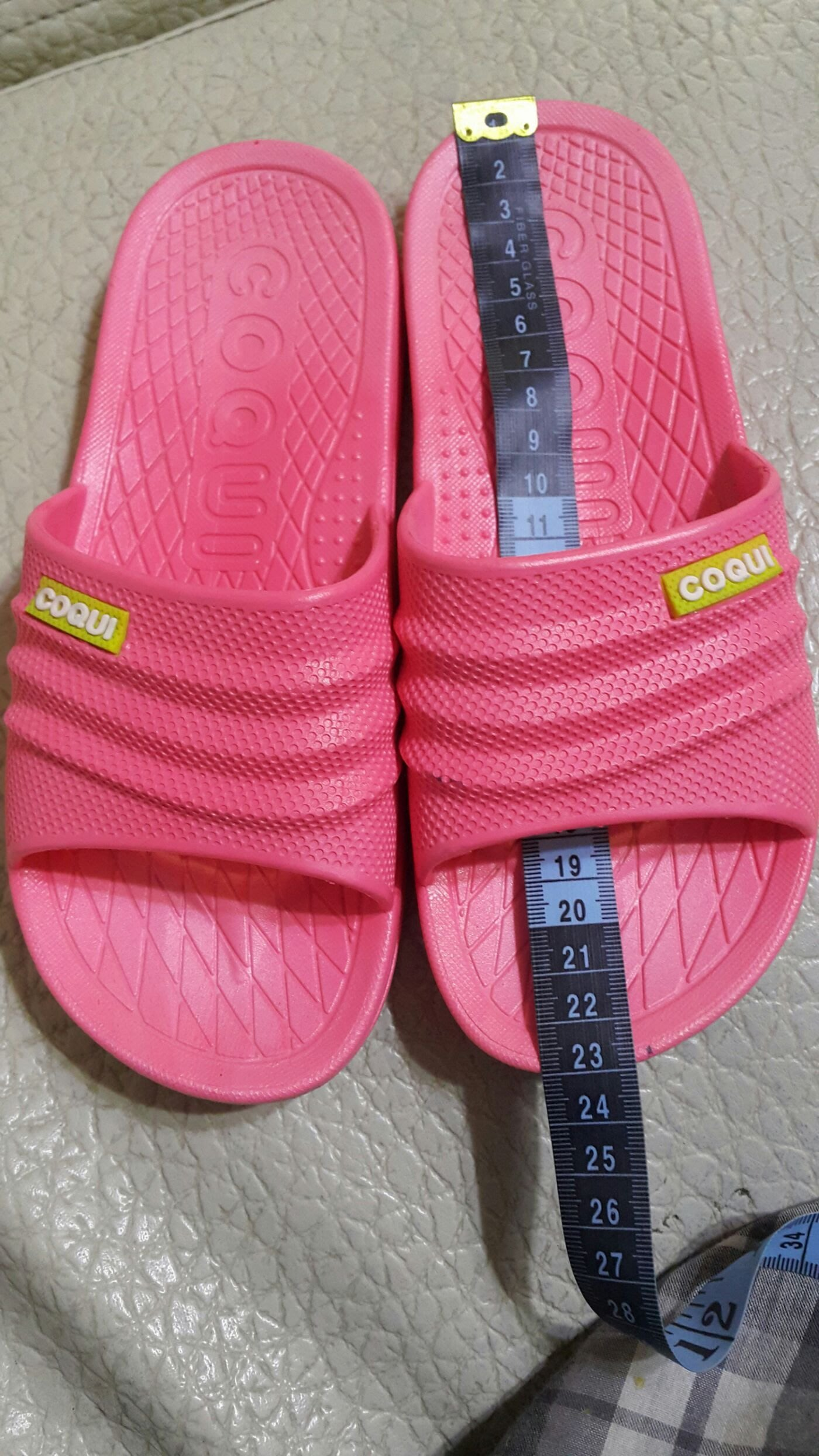 COQUi 酷趣 浴室 拖鞋  夏季家居家室內 塑料 涼拖鞋 海灘室外鞋(椅袋)