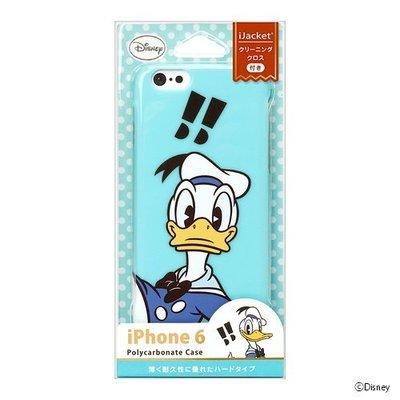 尼德斯Nydus~* 日本正版 迪士尼 唐老鴨 Donald 硬殼 手機殼 驚嘆號! 4.7吋 iPhone6