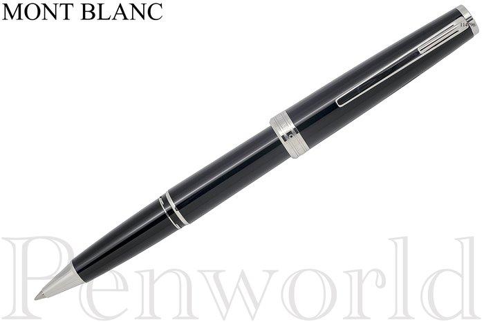 ~Penworld~德國製 Mont Blanc萬寶龍 PIX鉑金夾鋼珠筆黑  11479