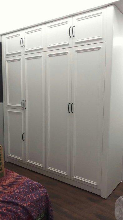 美生活館 美式鄉村家具訂製 客製化 系統式 衣櫃 衣櫥 工廠施工現場組合 可修改尺寸顏色再報價