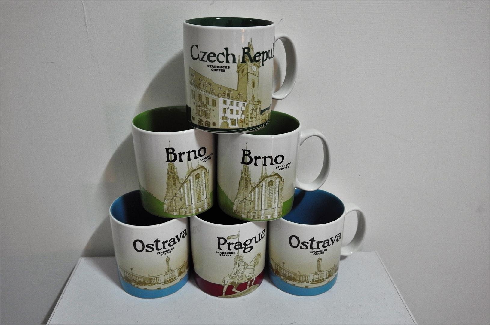 Czech Prague Brno Ostrava 星巴克 STARBUCKS City Mug 城市 馬克杯捷克布拉格