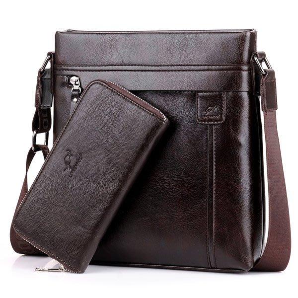 澳洲名牌 --- LINKENROO 袋鼠男包 商務休閑斜挎包 側背單肩包  IPAD包包  潮男豎版包