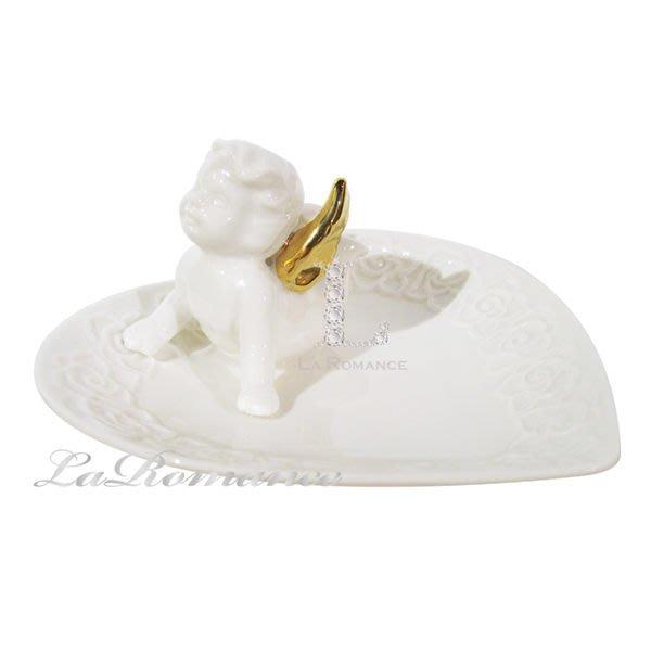 【芮洛蔓 La Romance】COCORO 兒童家飾 - 愛心天使小置物盤