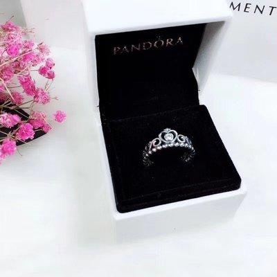 【Pandora】潘朵拉皇冠戒指/幸運草戒指