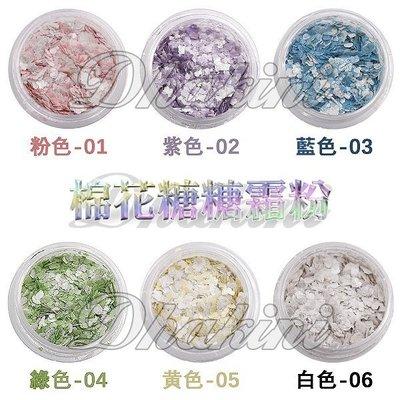 《仿棉花糖糖霜粉-六色》~獨特6款不同顏色~單瓶銷售區