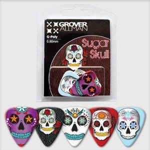 ☆ 唐尼樂器︵☆澳洲製 Grover Allman 主題系列『Sugar Skull』烏克麗麗/木吉他/電吉他 Pick 彈片