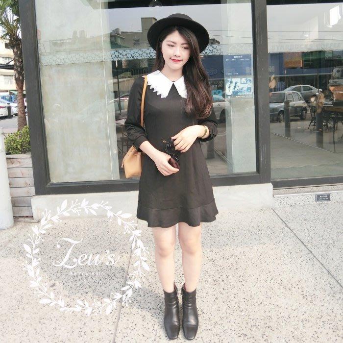 【ZEU'S】韓國小清新休閒甜美洋裝『 05118903 』【現+預】E