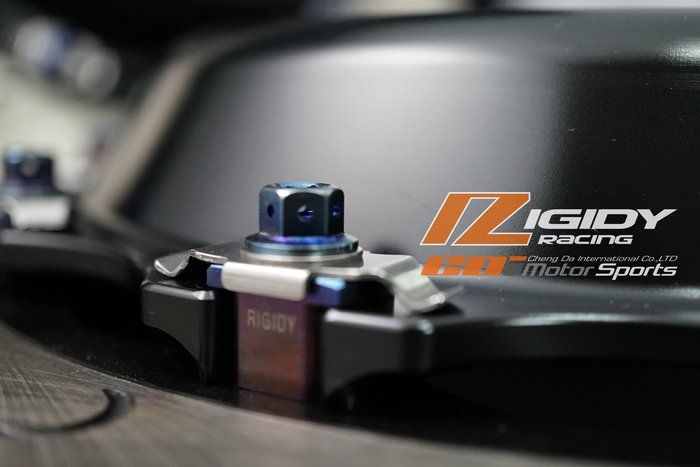 RIGIDY 訂製各型號卡鉗活塞專用 雙片式 全浮動碟盤 浮動塊 中心盤 轉接座  高品質公差值低 / 制動改