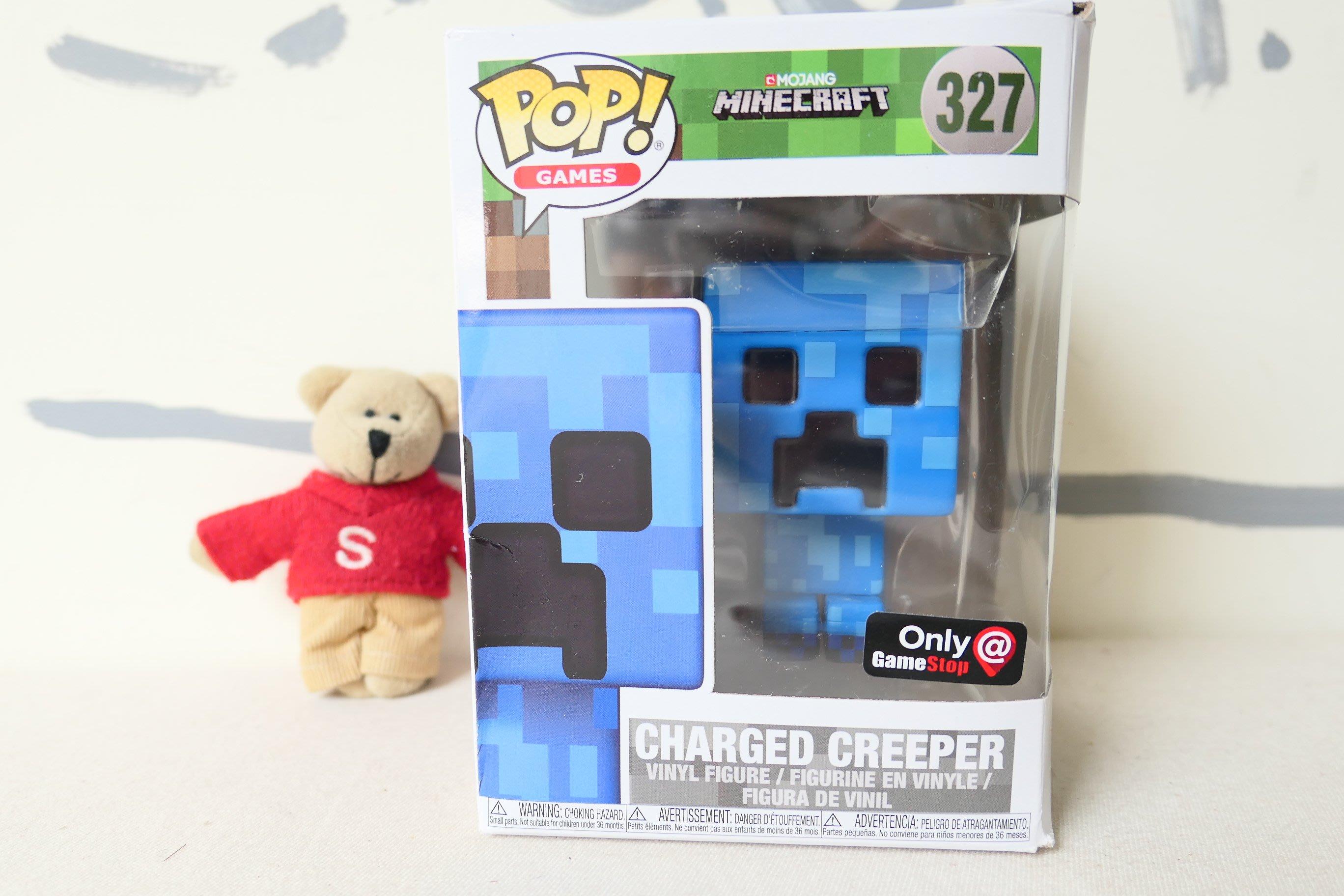 【Sunny Buy 玩具舘】◎現貨◎ POP! Games: Minecraft 麥塊 Charged Creeper