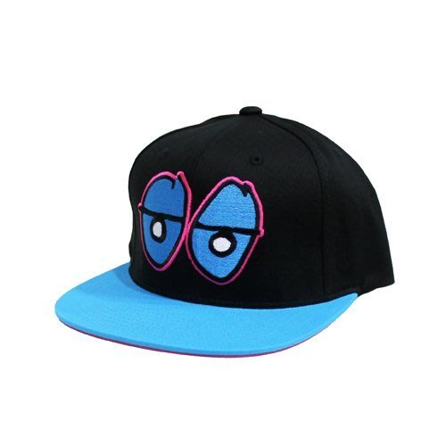 【Nightmare 】Krooked Eyes Snapback 帽子 Gonz 滑板 品牌