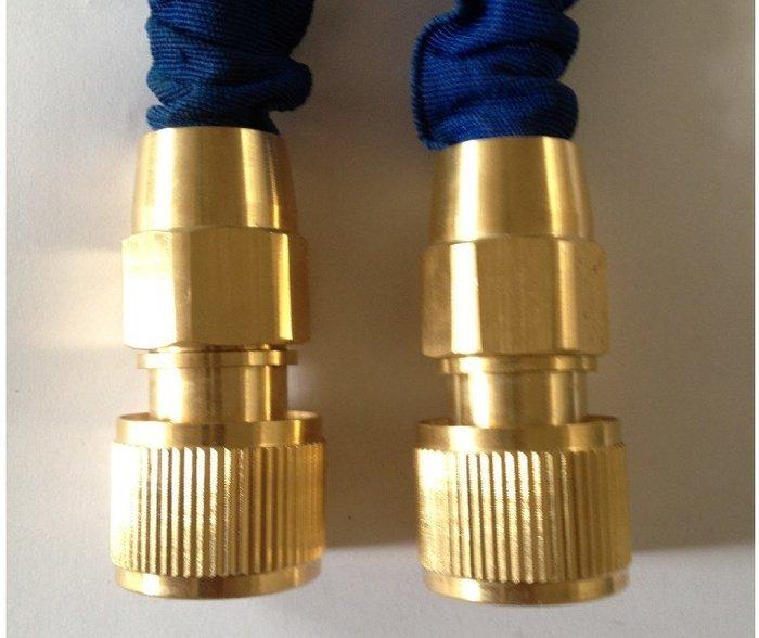 全銅 接頭3分伸縮水管彈簧管 通水接洗車水槍 (單個 )