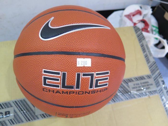 【iSport愛運動】♤ NIKE ♤ ELITE CHAMPIONSHIP 七號籃球   BB0403801