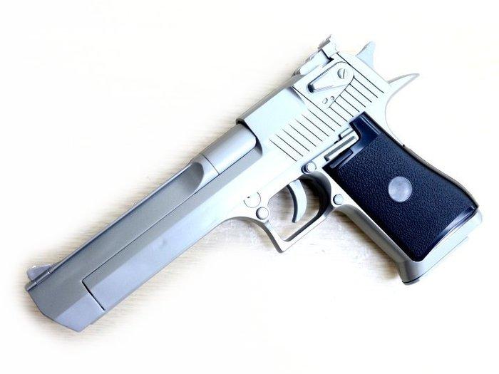 FS 959CH 沙漠之鷹 銀色 手拉空氣手槍 小朋友空氣槍