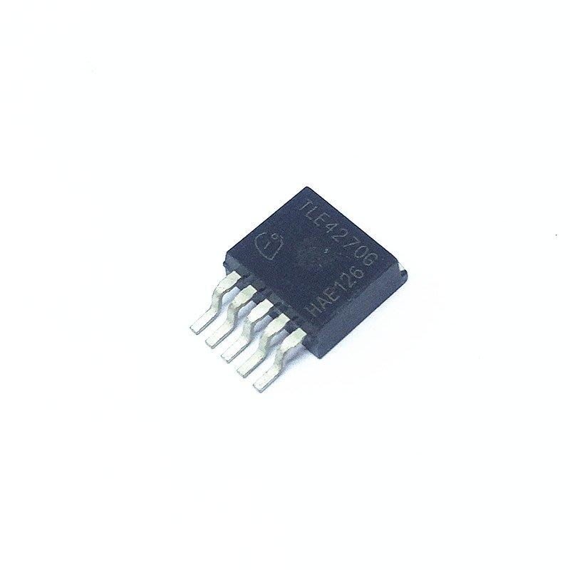 線性穩壓器 TLE4270G TO-263-5 650mA/5V(2個一拍)w142 059 [9009469]
