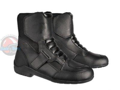 [中壢安信]EXUSTAR E-SBT291W ESBT291W 防水 短靴 車靴 防摔靴 賽車靴