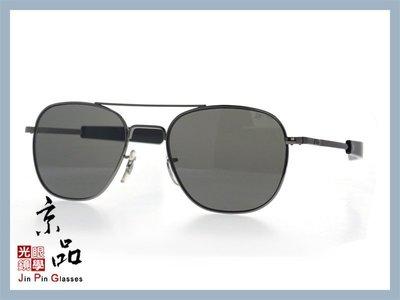 京品眼鏡 AO 美國 飛官太陽眼鏡 OP 55mm B.BA.CC 鐵灰/黑色框 灰色樹酯鏡片 公司貨 京品眼鏡 JPG
