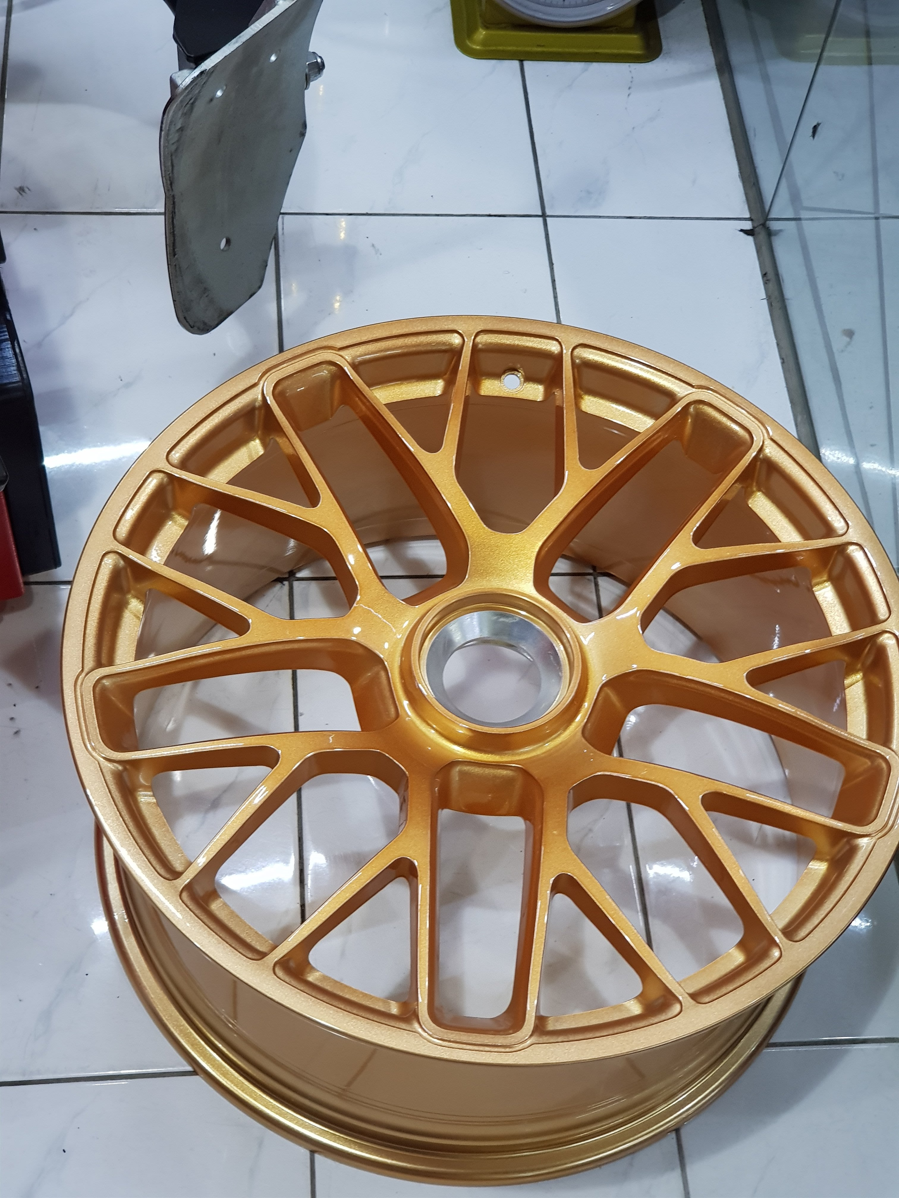 PORSCHE 991 GTS 單孔鋁圈 911 鍛造鋁圈