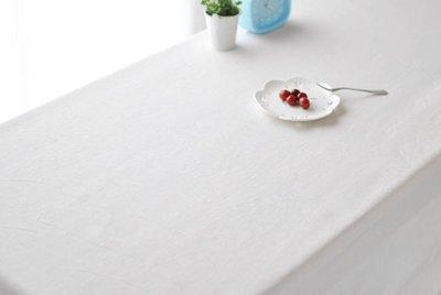 【#020 純白無圖】多種尺寸的桌巾◈...
