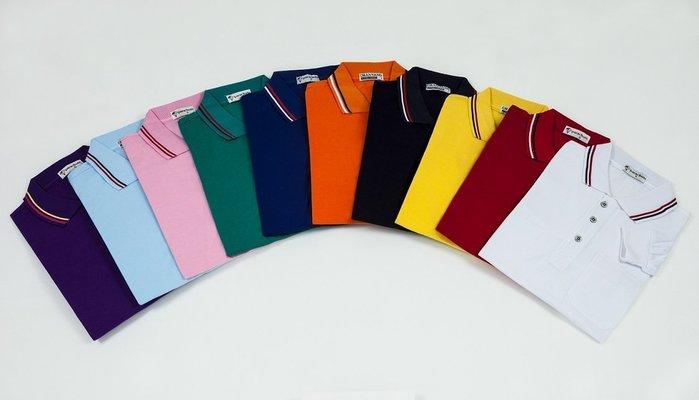 [蒂衣精品團體服]2100-長袖TC POLO衫(此款為一般進香廟會穿的,材質比較薄)-制服工作服班服系服科服社服進香