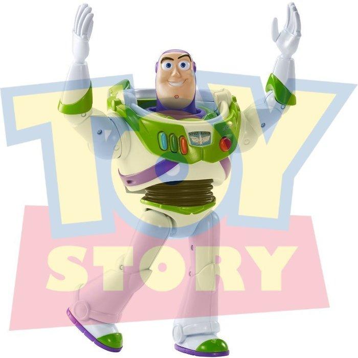 現貨【迪士尼 Disney Pixar】全新正品 玩具總動員 巴斯光年 BUZZ 【會說話電影版】高約14公分